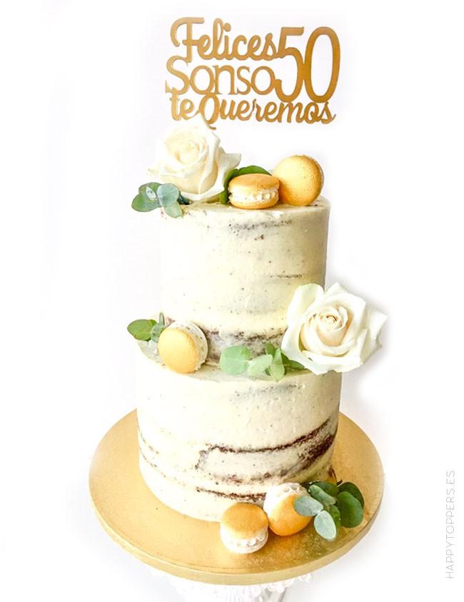 cake topper happy birthday adorno para tartas personalizado