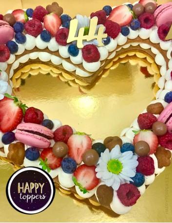 cake topper para adornar tartas con número. Decora tus tartas con nuestros números...