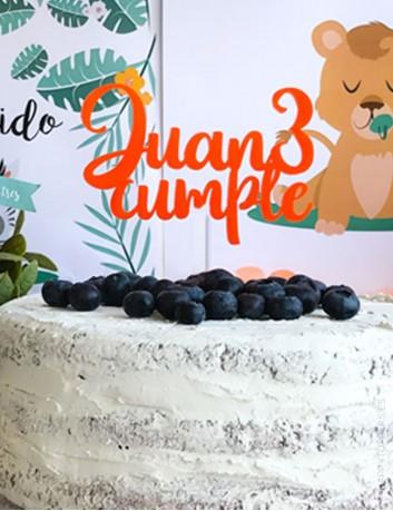 cake toppers personalizados  para cumpleaños por happy toppers con taller propio en Madrid. Envíos rápidos.