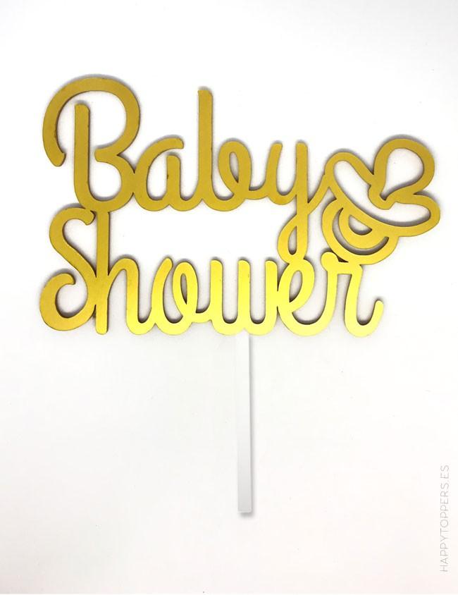cake topper para fiestas de nacimiento de bebe. cartel babyshower para fiesta bebé. Disponible en muchos colores