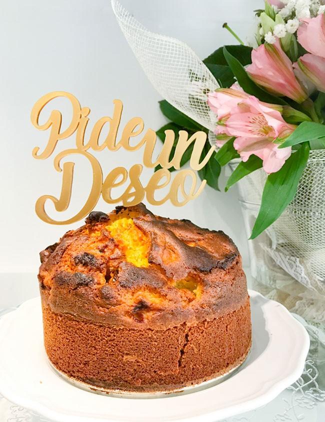 Regalo original para cumpleaños decora la tarta de cumpleaños con frases bonitas. Cake toppers personalizados Madrid.