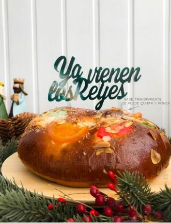 Cake topper reyes magos decoración navideña decoración roscones reyes magos celebraciones y eventos navidad
