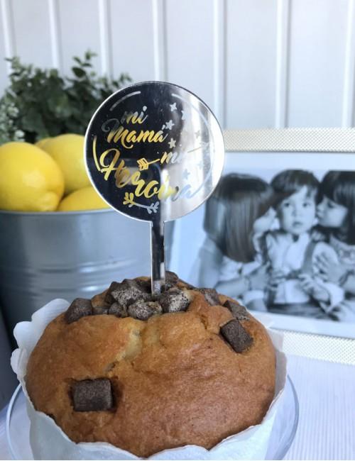 cake topper para adornar tartas regalo especial para el dia de la madre a buen precio. Envíos rápidos