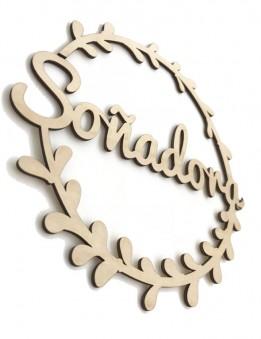 Letras en madera para decoración pared. Carteles en madera natural para la casa. Madrid. Envíos rápidos.