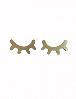 pestañas dormilonas en dorado ideales para decoración de los peques de la casa