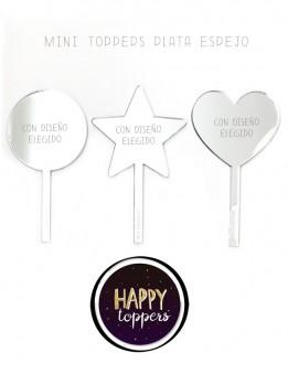 cake toppers personalizados Madrid adornos para tus fiestas con estilo, con frases bonitas.