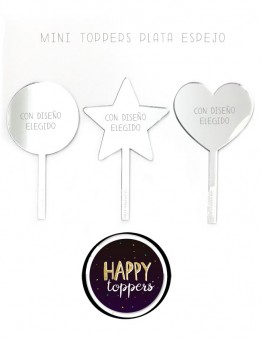 cake-topper-madrid-mini-regalo-profesores-personalizado-buen-precio-original-oro-plata-espejo-varias-formas