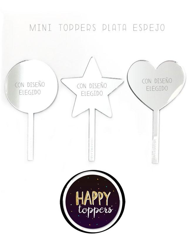cake-topper-madrid-decoracion-fiestas-tartas-suerte-oro-plata-espejo-varias-formas