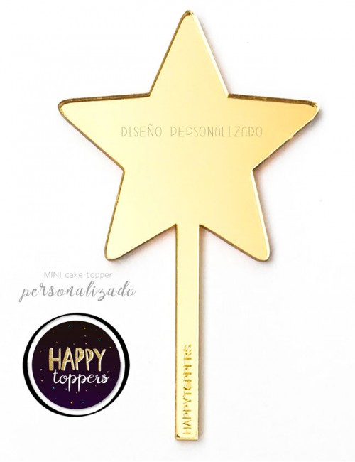 cake-topper-personalizble-con-lo-que-tu-quieras-estrella-dorado-efecto-espejo