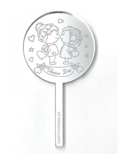 cake-topper-mini-san-valentin-regalo-enamorados-plata-espejo-varias-formas