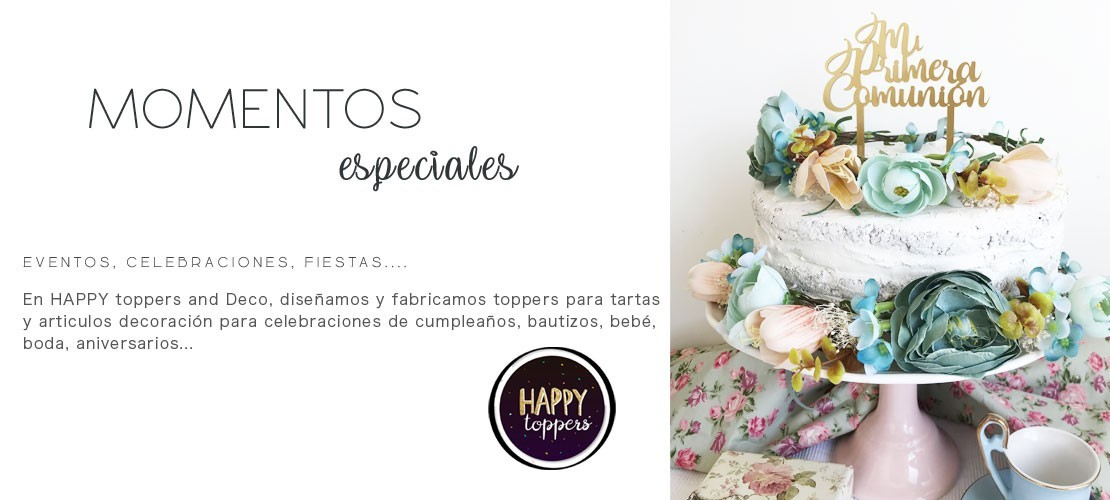 CAKE TOPPERS PARA...