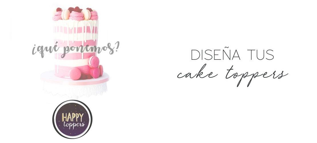 Diseña tu cake topper