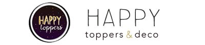 HAPPY toppers & deco