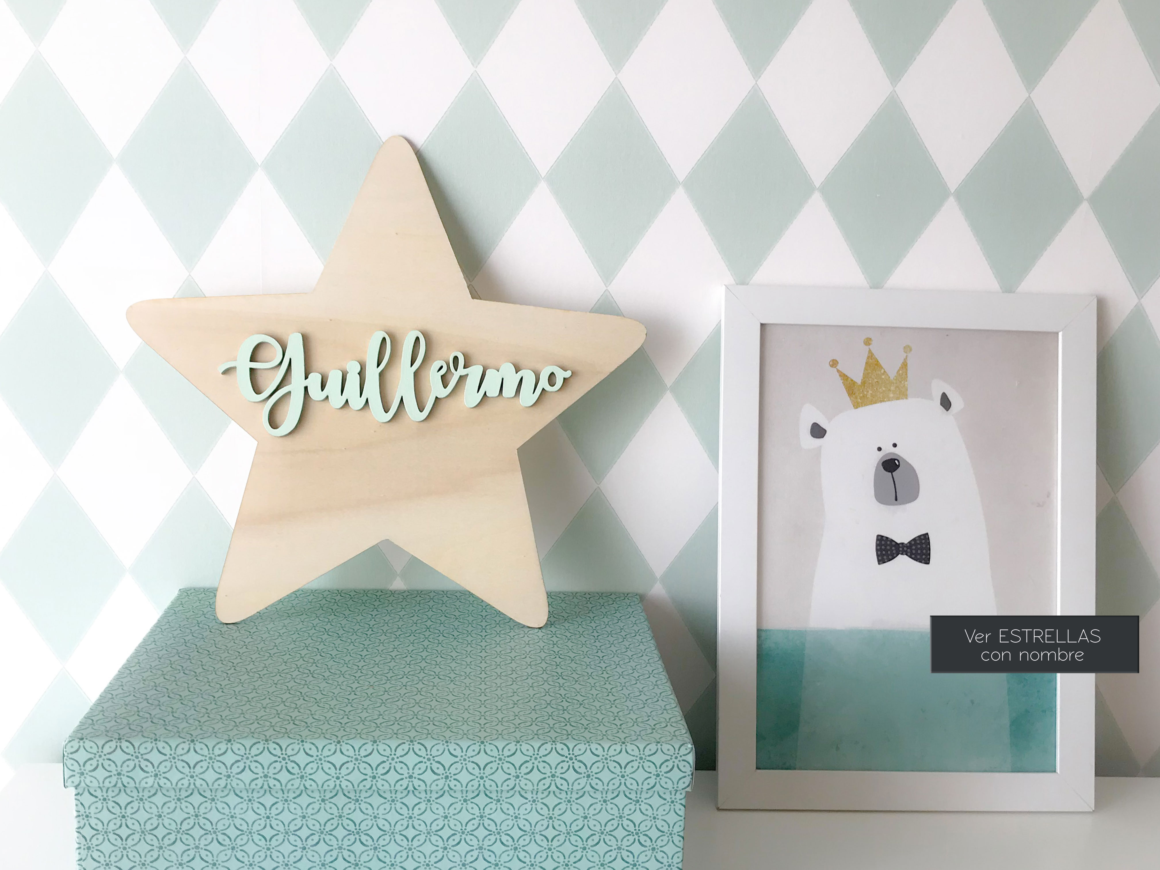 home-decoration-estrella-madera-con-nombre-decorar-habitacion-bebe
